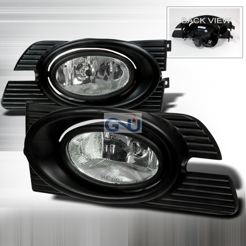 Honda Accord 4dr 2001-2002 Clear OEM Fog Lights