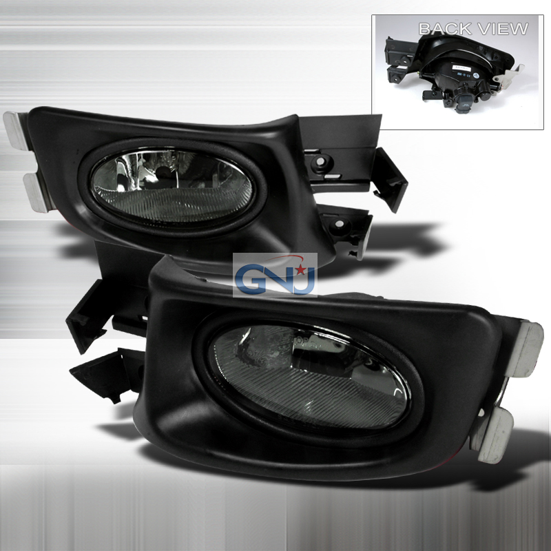 Honda Accord 4dr 2003-2004 Smoke OEM Fog Lights