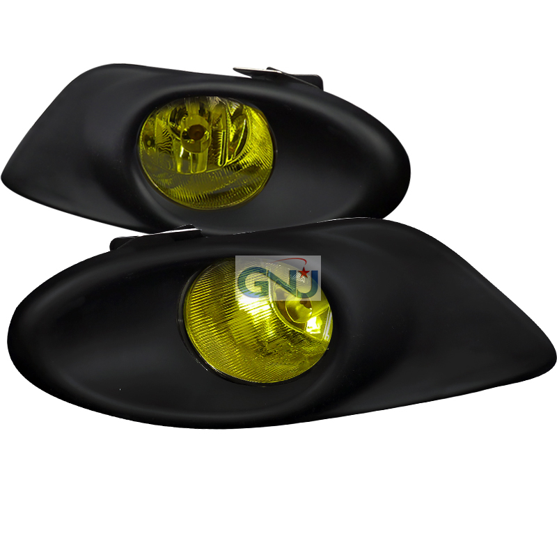Honda Accord 4dr 2008-2010 Yellow OEM Fog Lights