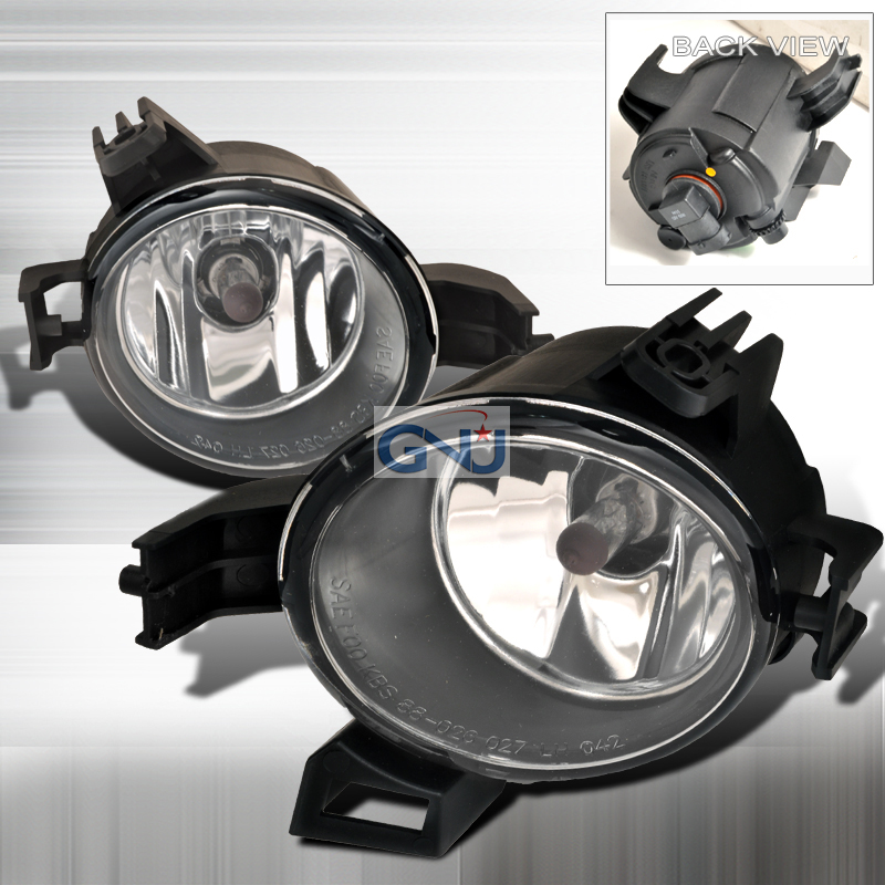 Nissan Altima 2005-2006 OE Style Fog Lights Clear