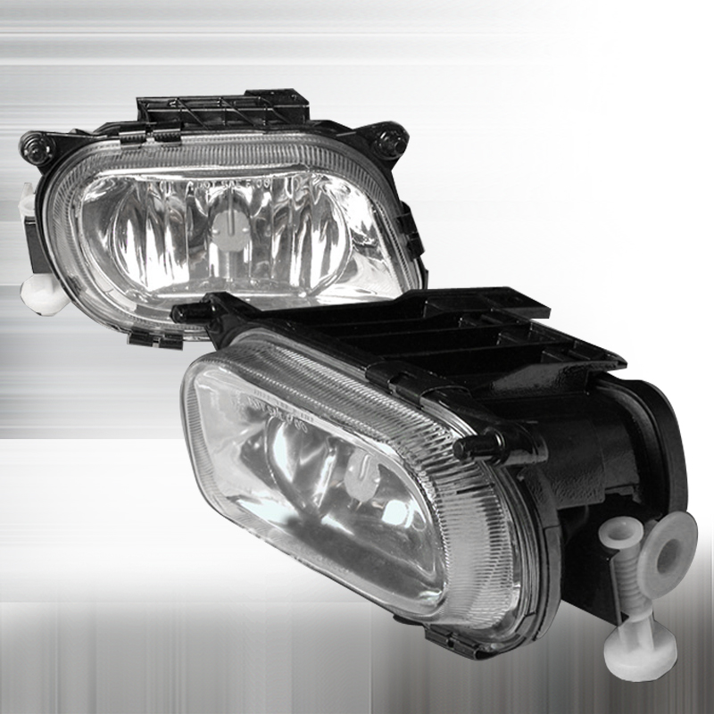 Mercedes Benz E Class  1996-1999 Clear Crystal Fog Lights