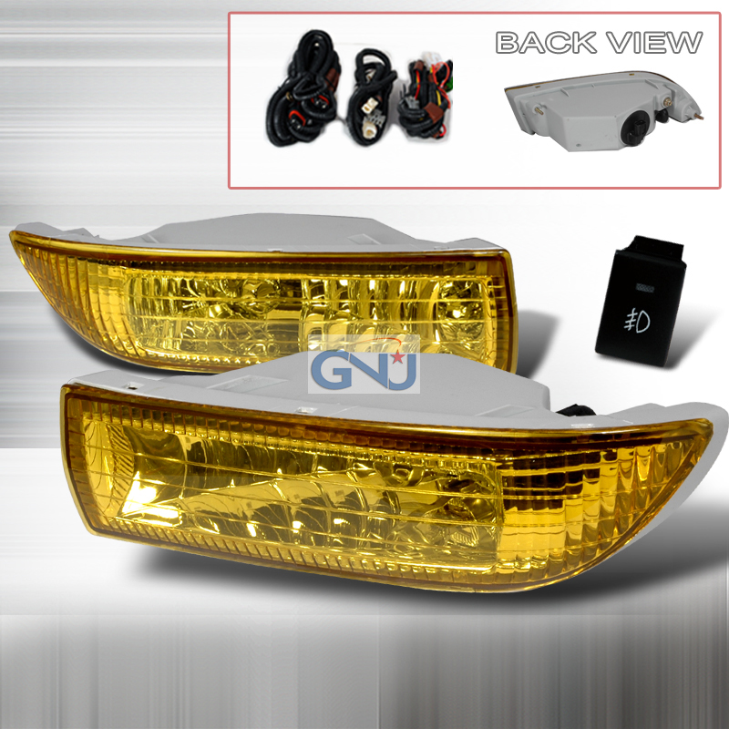 Toyota Corolla  2003-2004 Yellow OEM Fog Lights