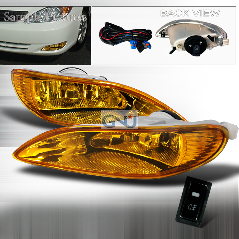 Toyota Corolla  2005-2008 Yellow OEM Fog Lights