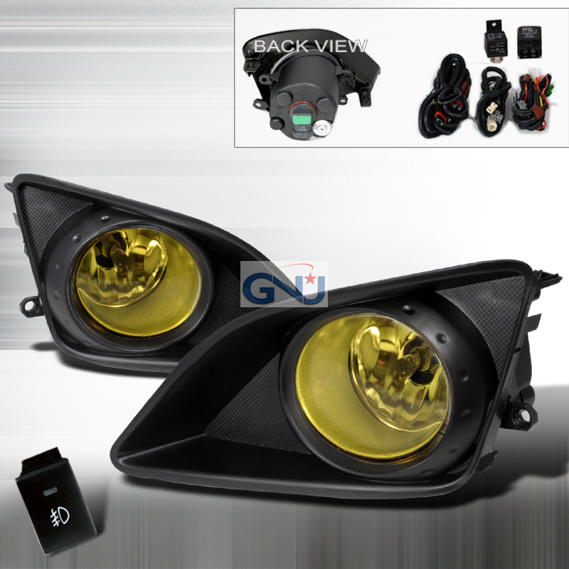 Toyota Corolla  2009-2010 Yellow OEM Fog Lights