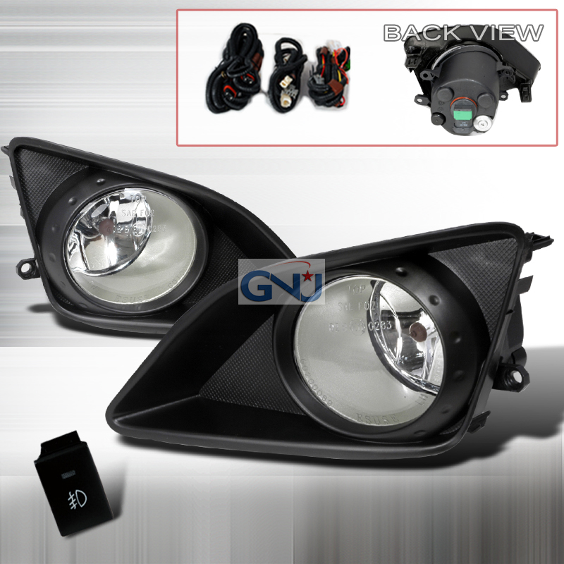 Toyota Corolla  2009-2010 Clear OEM Fog Lights