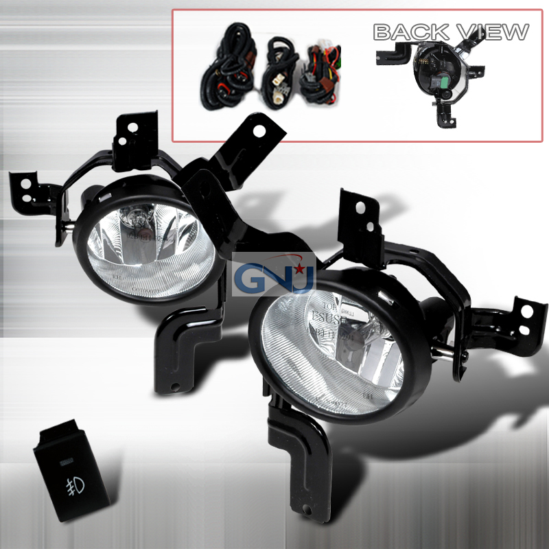 Honda Crv  2007-2009 Clear OEM Fog Lights
