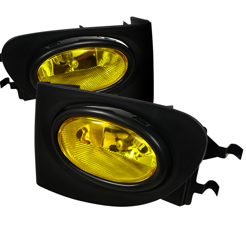 Honda Civic Si 2003-2005 Yellow OEM Fog Lights