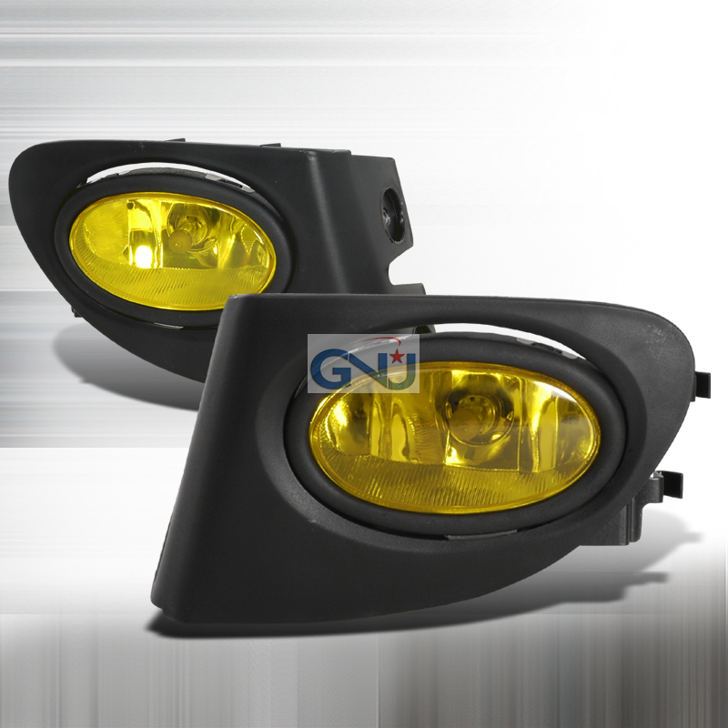 Honda Civic 3dr Si 2002-2004 Yellow OEM Fog Lights