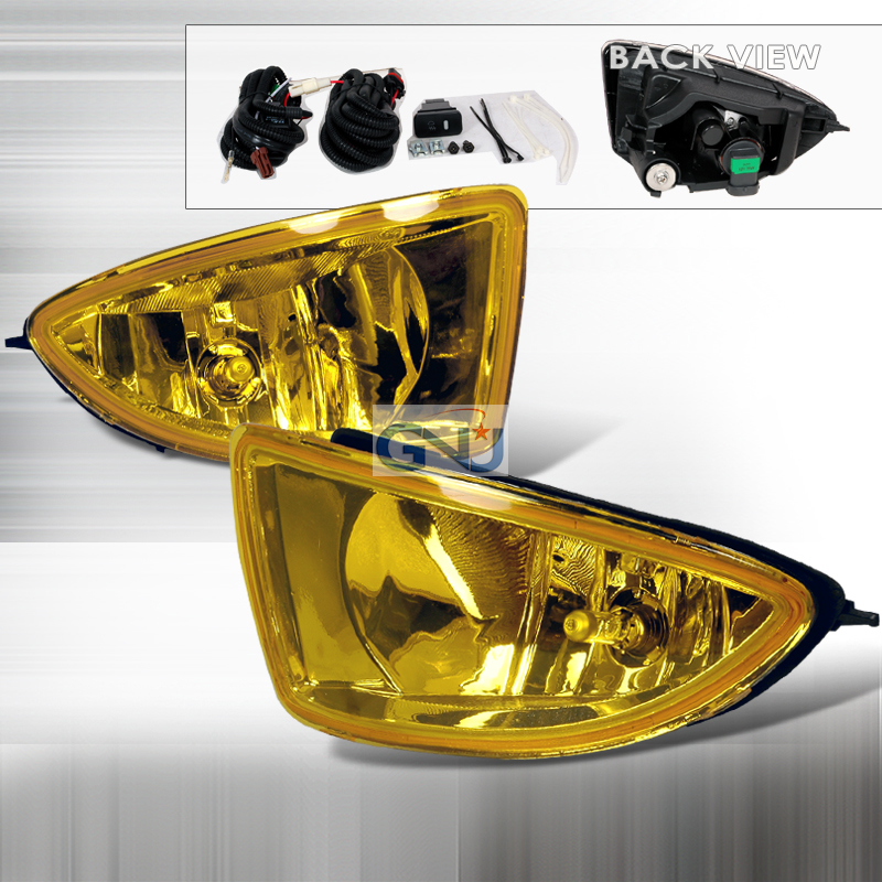 Honda Civic  2004-2005 Yellow OEM Fog Lights