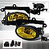 Honda Civic 2dr 2006-2008 Yellow OEM Fog Lights