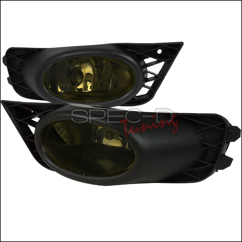 Honda Civic 4dr 2009-2012 Smoke OEM Fog Lights