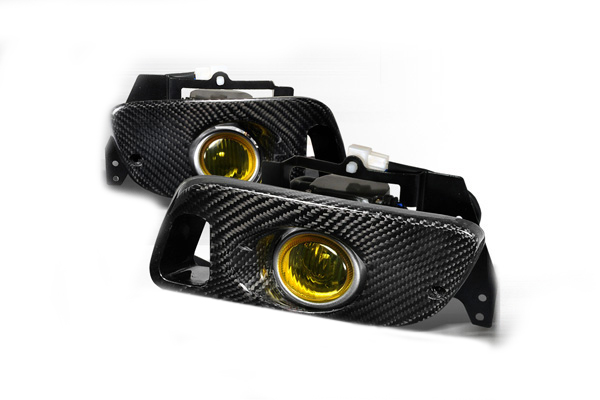 Honda Civic  1992-1995 Yellow OEM Fog Lights