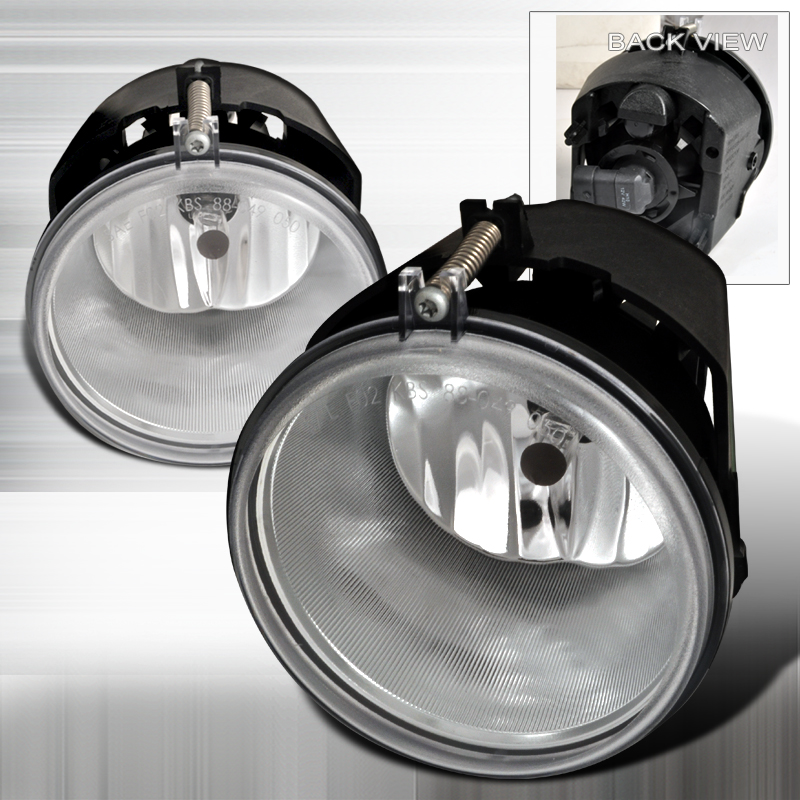 Dodge Dakota  2005-2009 Clear OEM Fog Lights