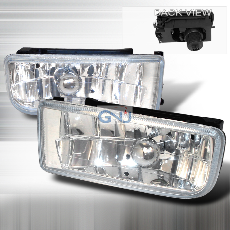 Bmw 3 Series E36 1992-1998 Clear Crystal Fog Lights