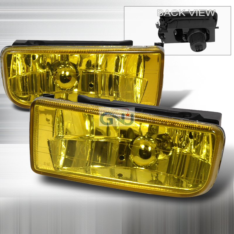 Bmw 3 Series E36 1992-1998 Yellow Crystal Fog Lights