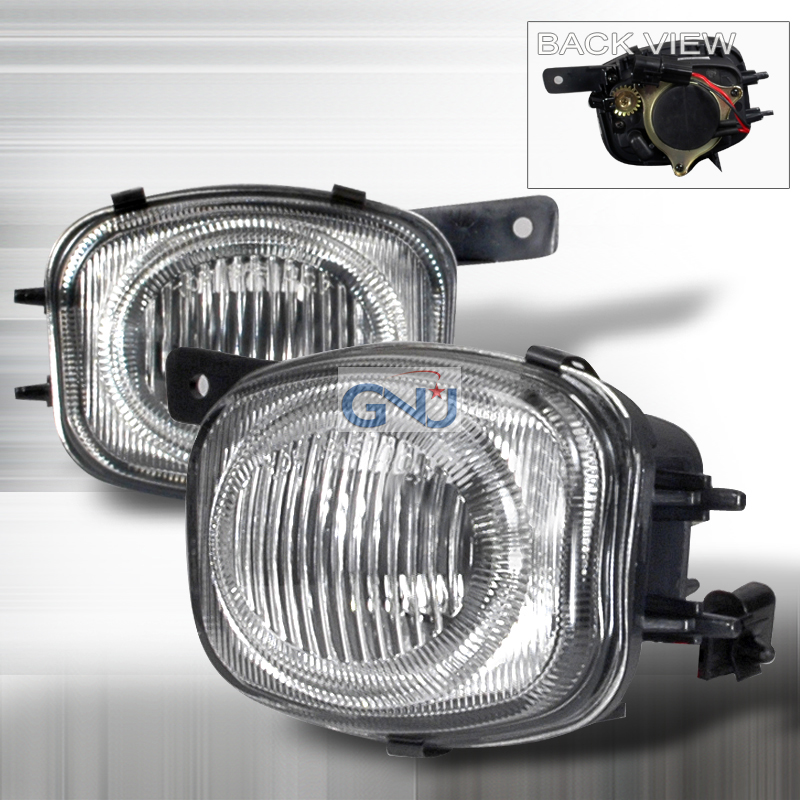 Mitsubishi Eclipse  2000-2002 Clear OEM Fog Lights