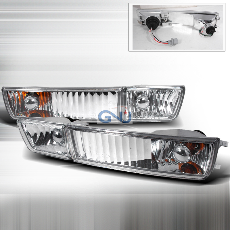 Volkswagen Golf  1993-1998 Clear OEM Fog Lights