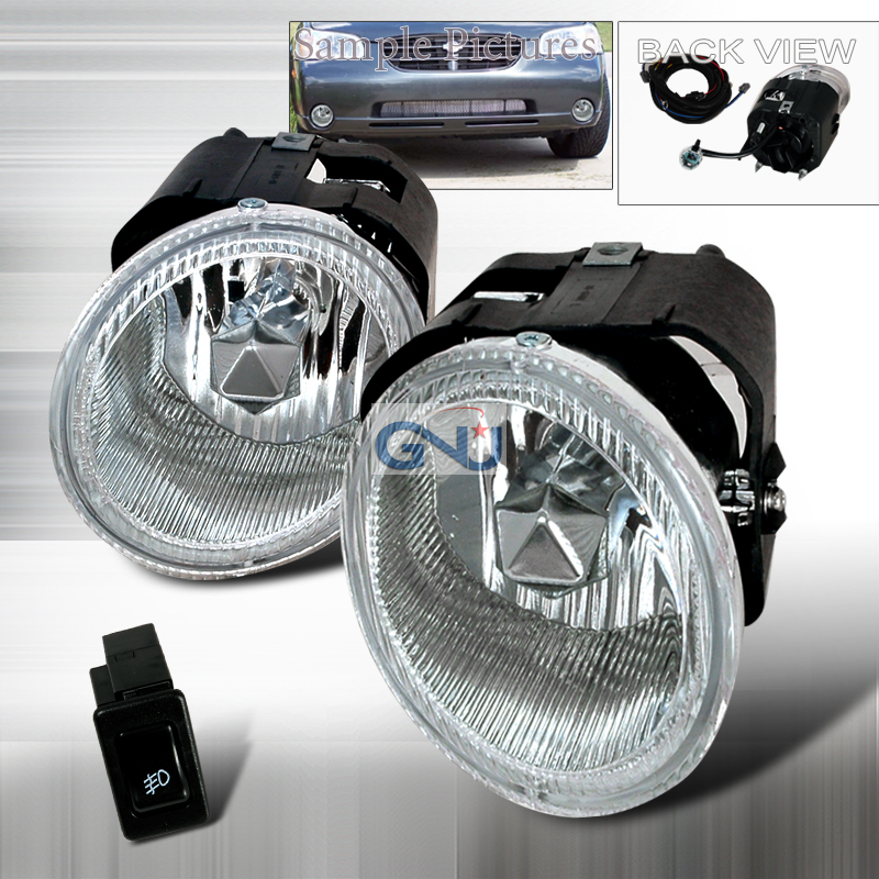 Nissan Maxima  2000-2001 Clear OEM Fog Lights