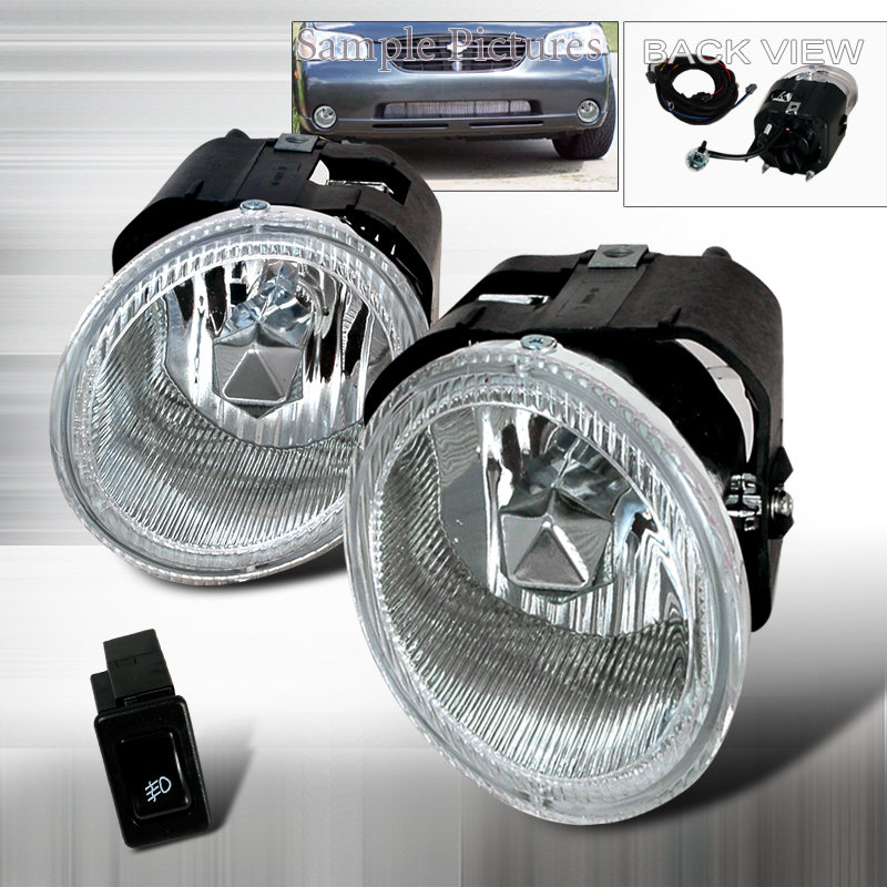 Nissan Frontier  2001-2003 Clear OEM Fog Lights