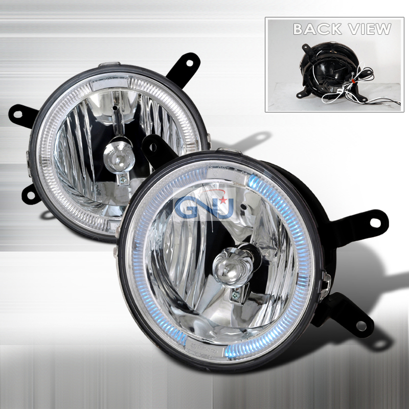 Ford Mustang  2005-2009 Clear Halo Fog Lights