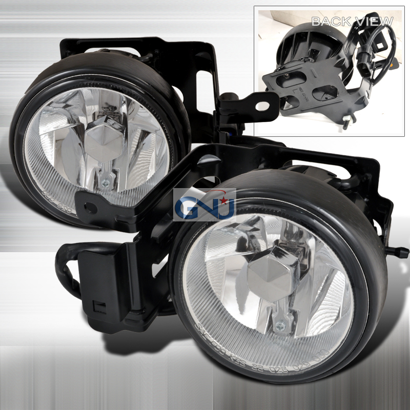 Mitsubishi Montero  2000-2004 Clear OEM Fog Lights