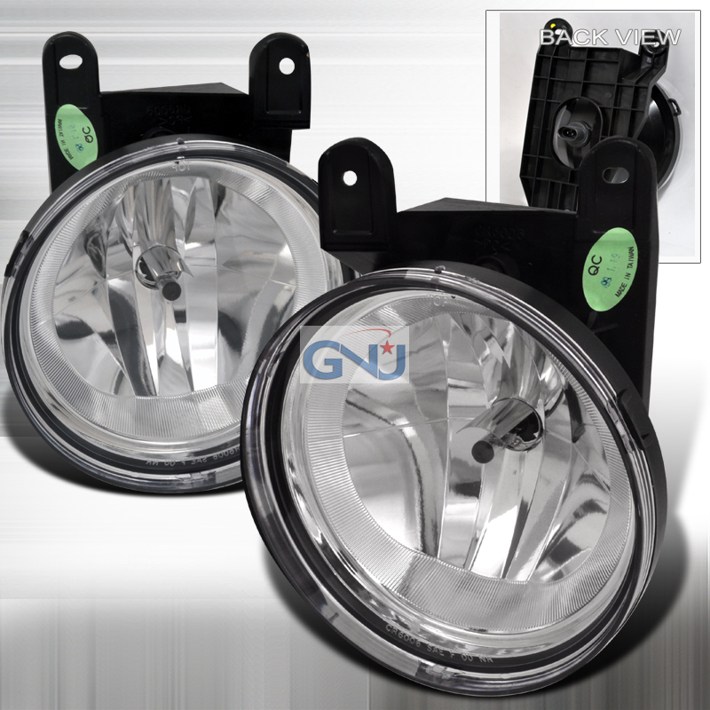 Lincoln Blackwood 1998-2002 Fog Lights With Wire Kit Clear
