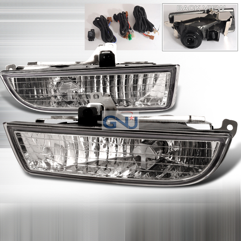 Honda Prelude  1997-2001 Clear OEM Fog Lights