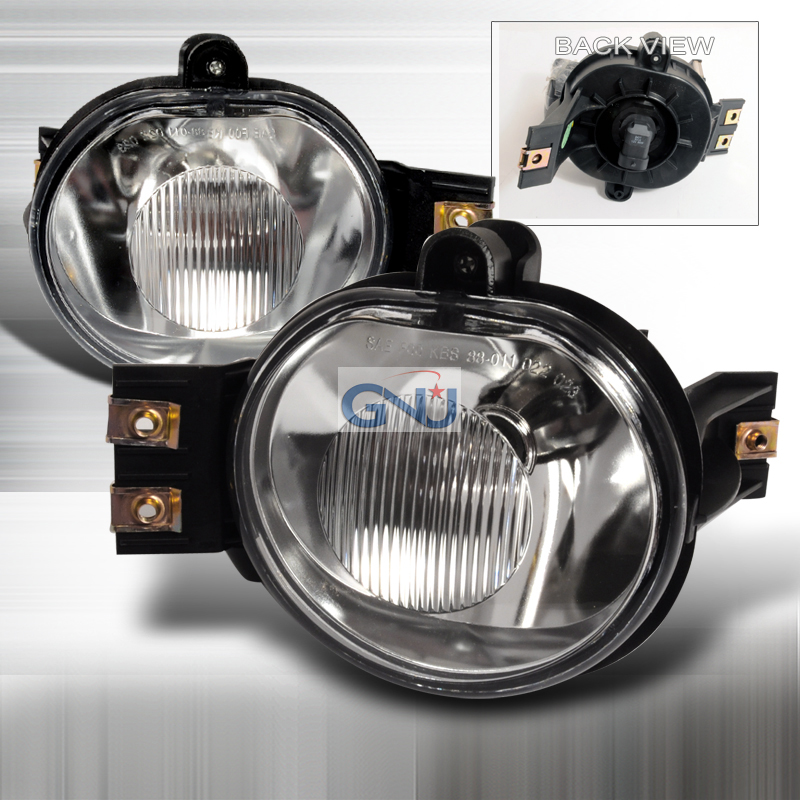 Dodge Ram  2002-2008 Clear OEM Fog Lights