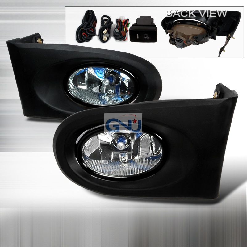 Acura RSX  2002-2004 Clear OEM Fog Lights
