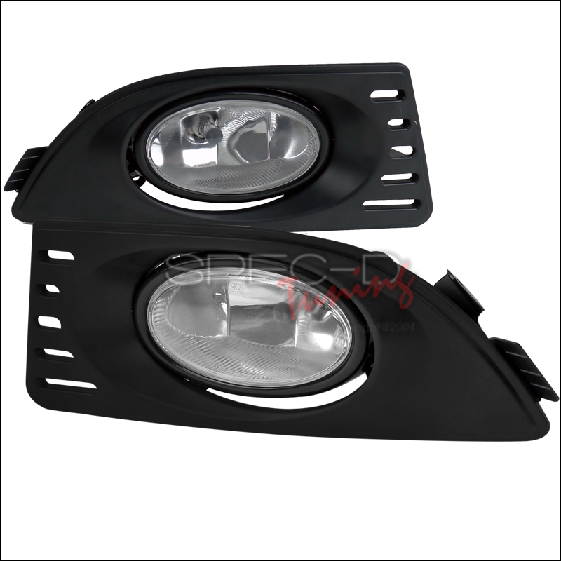 Acura RSX  2005-2007 Clear OEM Fog Lights