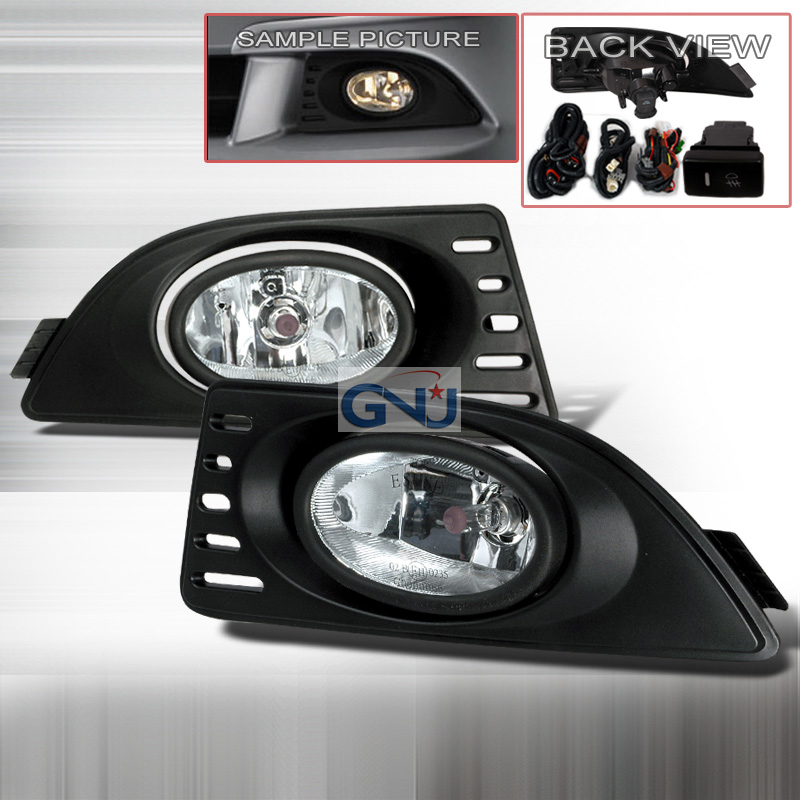 Acura RSX 2006-2011 OEM Clear Fog Lights