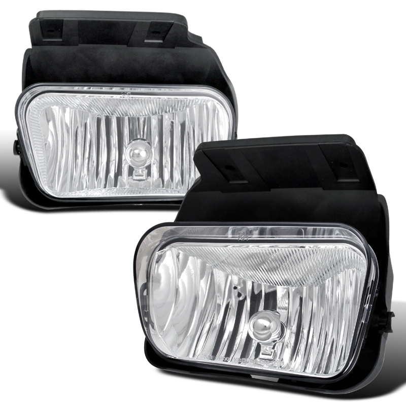 Chevrolet Silverado  2003-2006 Clear OEM Fog Lights