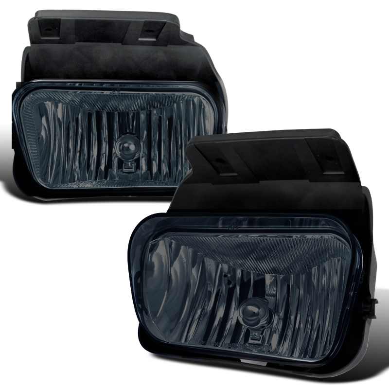 Chevrolet Silverado  2003-2004 Smoke OEM Fog Lights