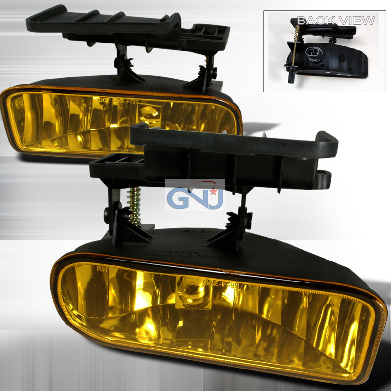 Chevrolet Silverado  1999-2002 Yellow OEM Fog Lights
