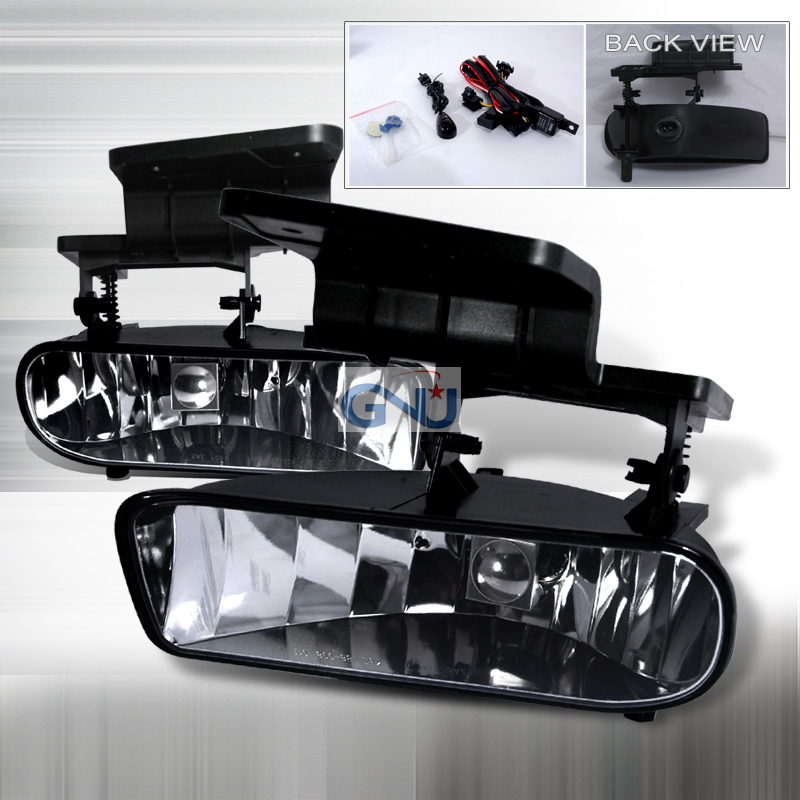 Chevrolet Silverado  1999-2002 Clear OEM Fog Lights
