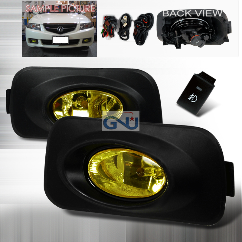 Acura TSX  2004-2006 Yellow OEM Fog Lights