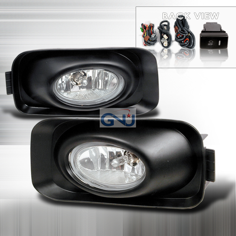 Acura TSX  2004-2006 Clear OEM Fog Lights