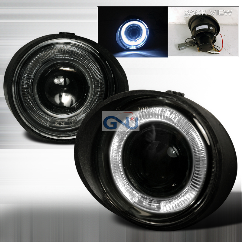 Nissan Altima  2002-2004 Smoke Halo Projector Fog Lights