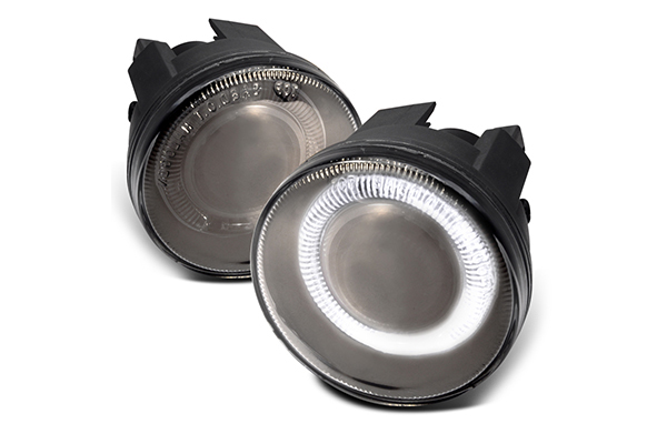 Dodge Dakota  2001-2004 Smoke Halo Projector Fog Lights