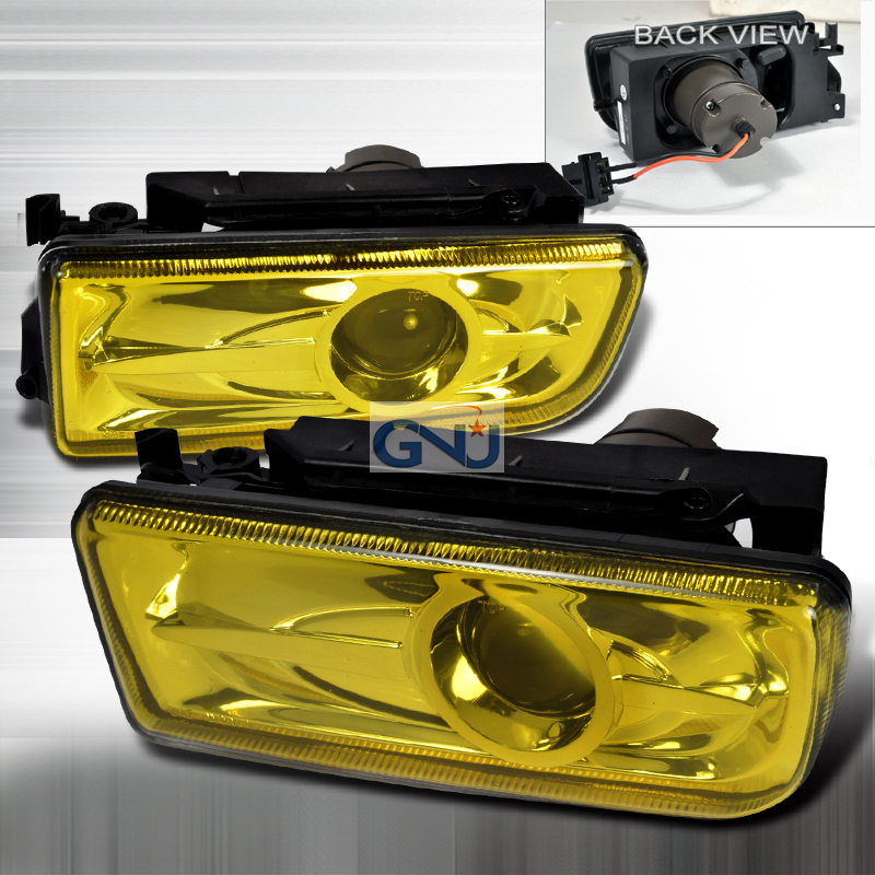 Bmw 3 Series E36 1992-1998 Yellow Projector Fog Lights