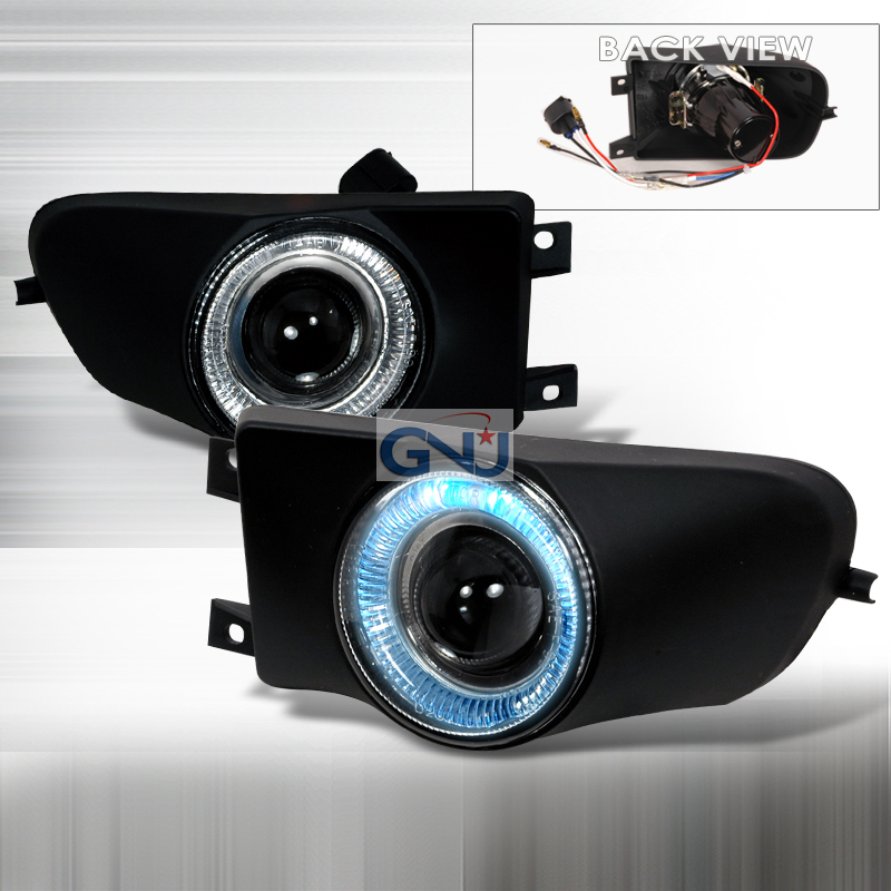 Bmw 5 Series E39 1997-2000 Clear Projector Fog Lights