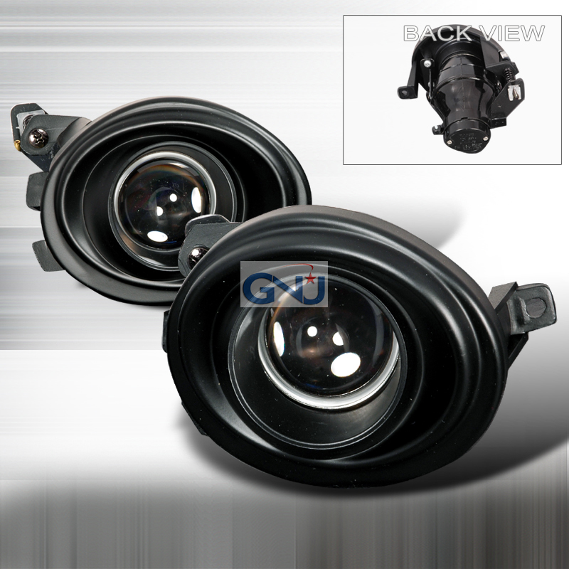 Bmw 3 Series 2001-2006 Halo Projector Fog Lights Black
