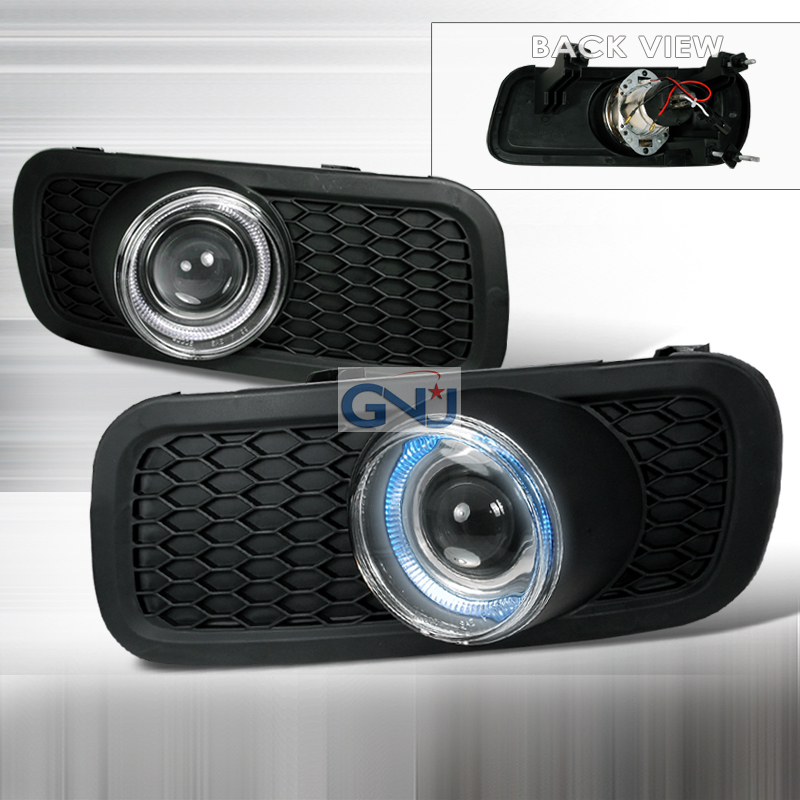 Ford F150  2004-2006 Clear Halo Projector Fog Lights