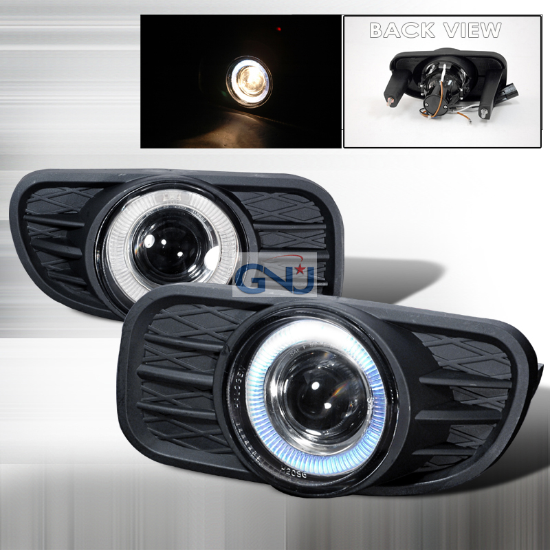 Jeep Grand Cherokee  1999-2003 Clear Halo Projector Fog Lights