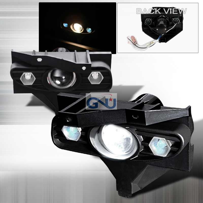 Ford Mustang  1999-2004 Clear Projector Fog Lights