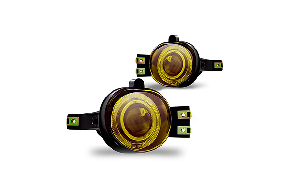 Dodge Ram  2002-2005 Yellow Projector Fog Lights
