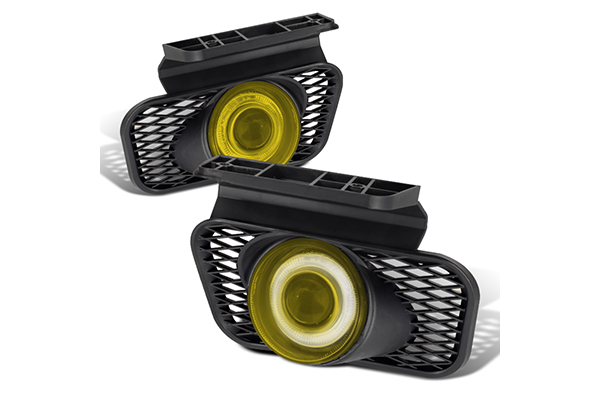 Chevrolet Silverado  2003-2006 Yellow Halo Projector Fog Lights