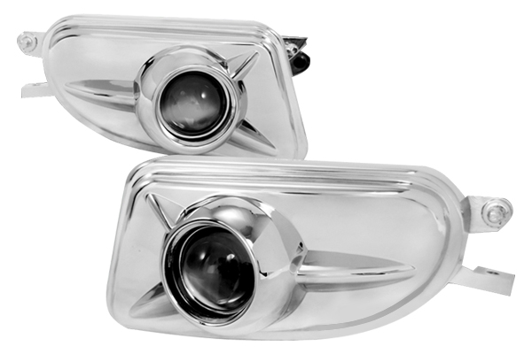 Mercedes Benz CLK Class W208 1998-2003 Clear Projector Fog Lights