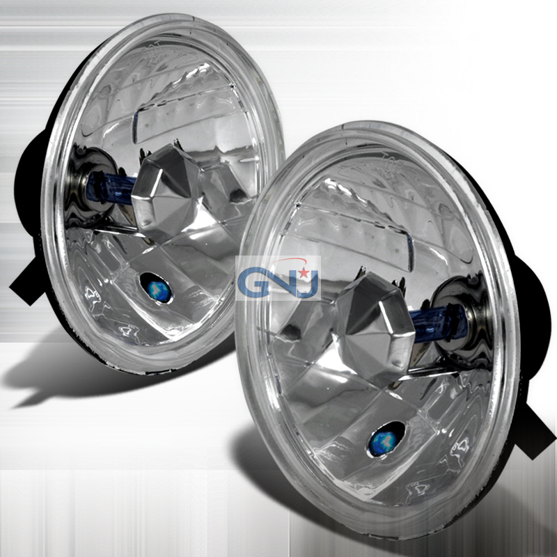 Ford F150 1992-1996 Euro Crystal Headlights   - Chrome