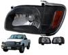 2003 Toyota Tacoma  Black Healights W/ Corner Lights
